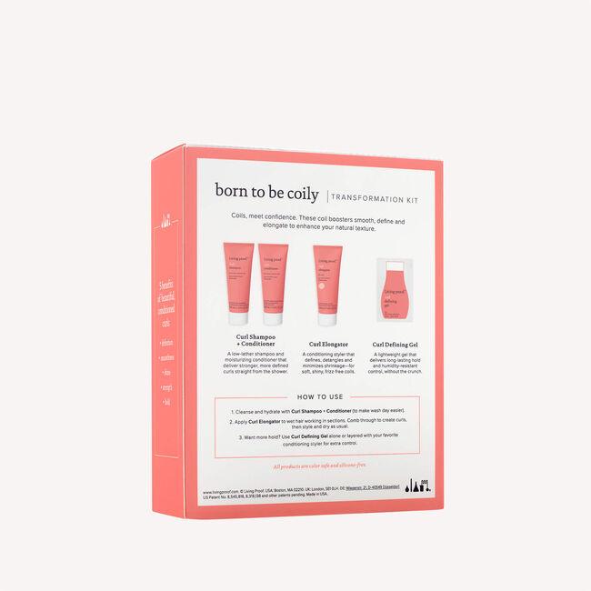Born To Be Coily Starter Kit, , hi-res-alt