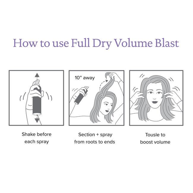 Dry Volume Blast™ Set, , hi-res-alt