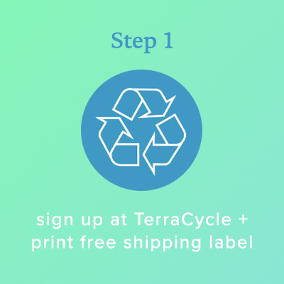 Step 1: Sign up with Terracycle
