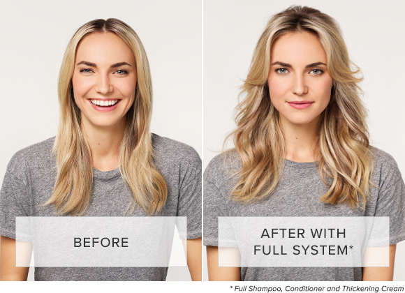 Before and After using Full System